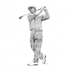 Ben Hogan – Beautiful Follow Through