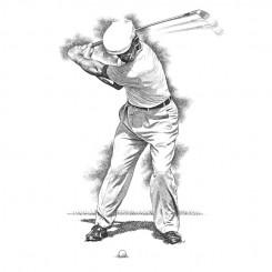 Ben Hogan – Back Swing