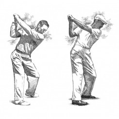 Ben Hogan – Back Swing Evolution