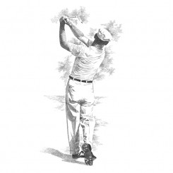 Ben Hogan – Classic Follow Through
