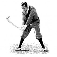 keith-witmer-golf-portraits-walter-hagen