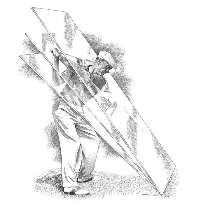 Ben Hogan Archives Golf Illustration
